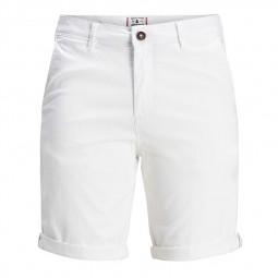 Short chino Jack & Jones blanc