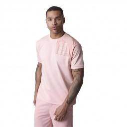T-shirt ton sur ton Project X Paris rose