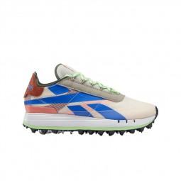 Chaussures Reebok Legacy 83 bleu vert rose
