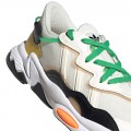 Chaussures Adidas Ozweego blanc vert crème