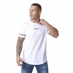 T-shirt logo Project X Paris blanc