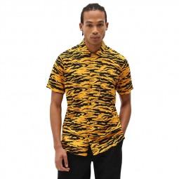 Chemise manches courtes Dickies Quamba jaune noir