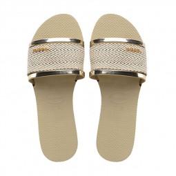 Tongs Havaianas You Trancoso Premium beige