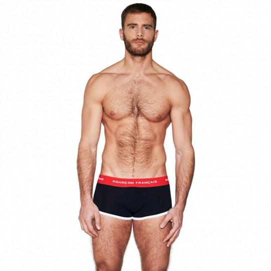 Boxer court tricolore Garçon Français