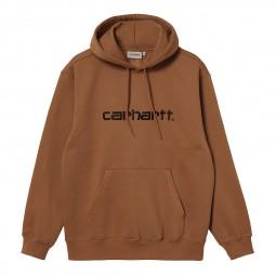 Sweat à capuche Carhartt marron