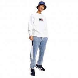 Sweat Tommy Jeans blanc