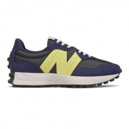 Sneakers Femme New Balance 327 bleu marine/jaune