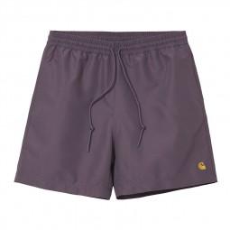 Short de bain Carhartt WIP Chase violet