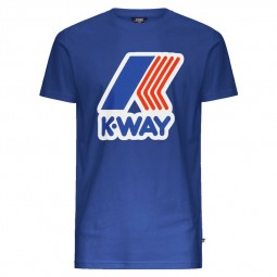 T-Shirt KWAY Pete bleu