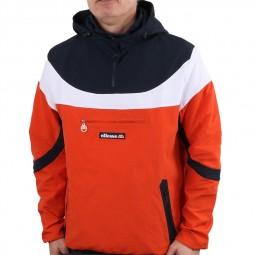 Veste enfilable coupe vent Ellesse Romelo Jacket bleu orange blanc