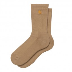 Chaussettes Carhartt Chase Socks beige foncé