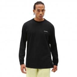 T-shirt Dickies manches longues Loretto noir