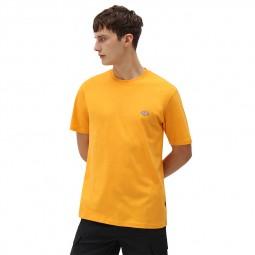 T shirt Dickies Mapleton jaune orangé