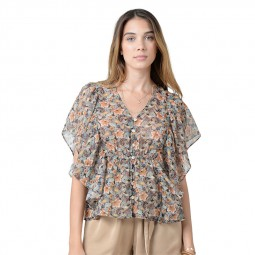 Top transparent dos nu Molly Bracken vintage
