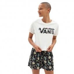 T-Shirt manches courtes Vans Blozzom blanc