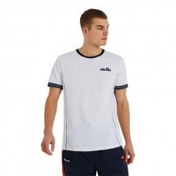 T-Shirt manches courtes Ellesse Terracotta blanc