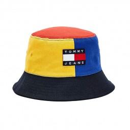 Bob Tommy Jeans tricolore bleu rouge jaune