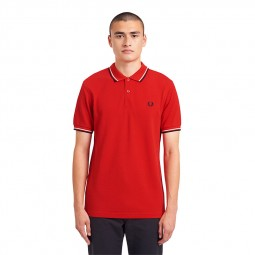 Polo Fred Perry M3600 C73 rouge