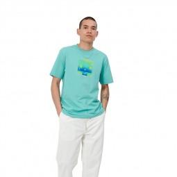 T shirt Carhartt S/S Tropical vert d'eau