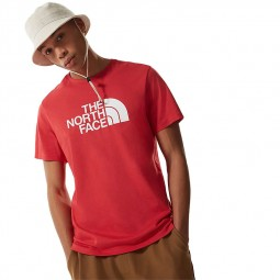 T-shirt The North Face S/S Easy Tee rouge