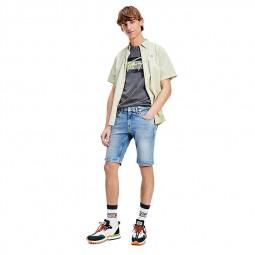 Short en jean's Tommy Jeans Scanton bleu clair