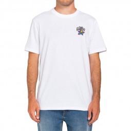T-shirt Element Lamour Supreme Bashooka blanc