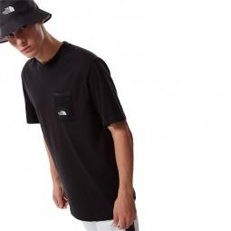 T-shirt The North Face Black Box Cut Tee noir
