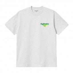 T shirt Carhartt S/S Runner gris chiné