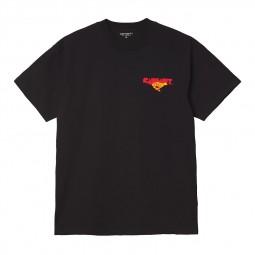 T shirt Carhartt S/S Runner noir