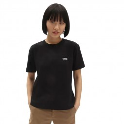 T-Shirt manches courtes Vans Junio V Boxy noir