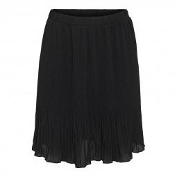 Jupe plissée Only Tamara noire
