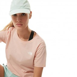 T Shirt The North Face S/S Simple Dome rose