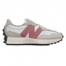 Sneakers Femme New Balance 327 gris clair rose