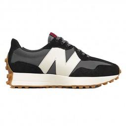 Sneakers Femme New Balance 327 noir blanc