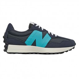 Sneakers homme New Balance 327 bleu marine turquoise