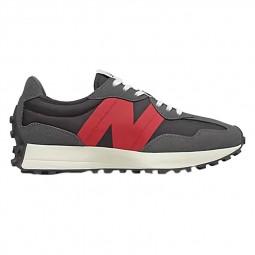 Sneakers homme New Balance 327 gris foncé rouge