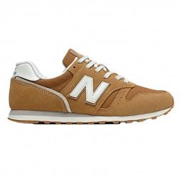 Chaussures New Balance 373 camel blanc
