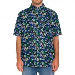 Chemise manches courtes Element Glastonbury à fleurs
