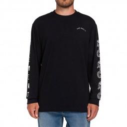 T-shirt manches longues Element Karlov noir
