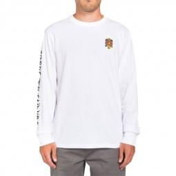 T-shirt manches longues Element x Lamour Supreme Spectral blanc