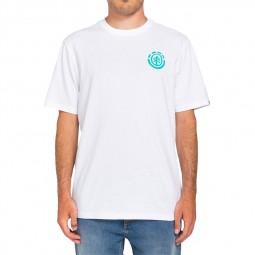 T-shirt Element Audobon blanc