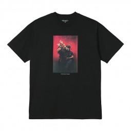T shirt Carhartt S/S Bouquet noir