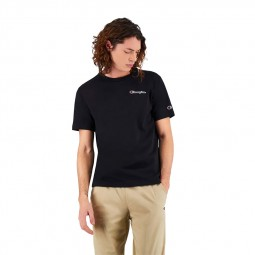 T-shirt Champion petit logo noir