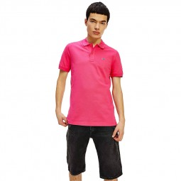 Polo Tommy Jeans Classics rose