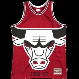 Débardeur Big Face 2.0 Jersey Chicago Bulls rouge