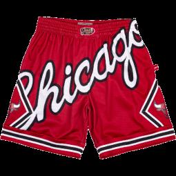 Short Big Face 2.0 Jersey Chicago Bulls rouge