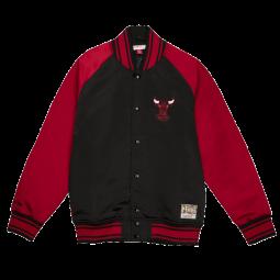 Blouson Big Face 2.0 Jacket Chicago Bulls noir