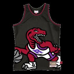 Débardeur Big Face 2.0 Jersey Toronto Raptors noir