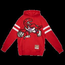 Sweat Big Face 2.0 Fleece Hoodie Toronto Raptors rouge