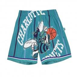 Short Big Face 2.0 Shorts Charlotte Hornets bleu